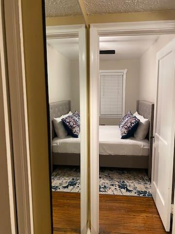 Full sized hallway mirror