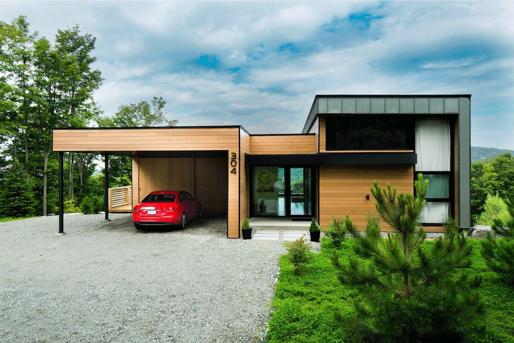 Maison contemporaine shefford maisons louer shefford qu bec canada for Maison moderne canada