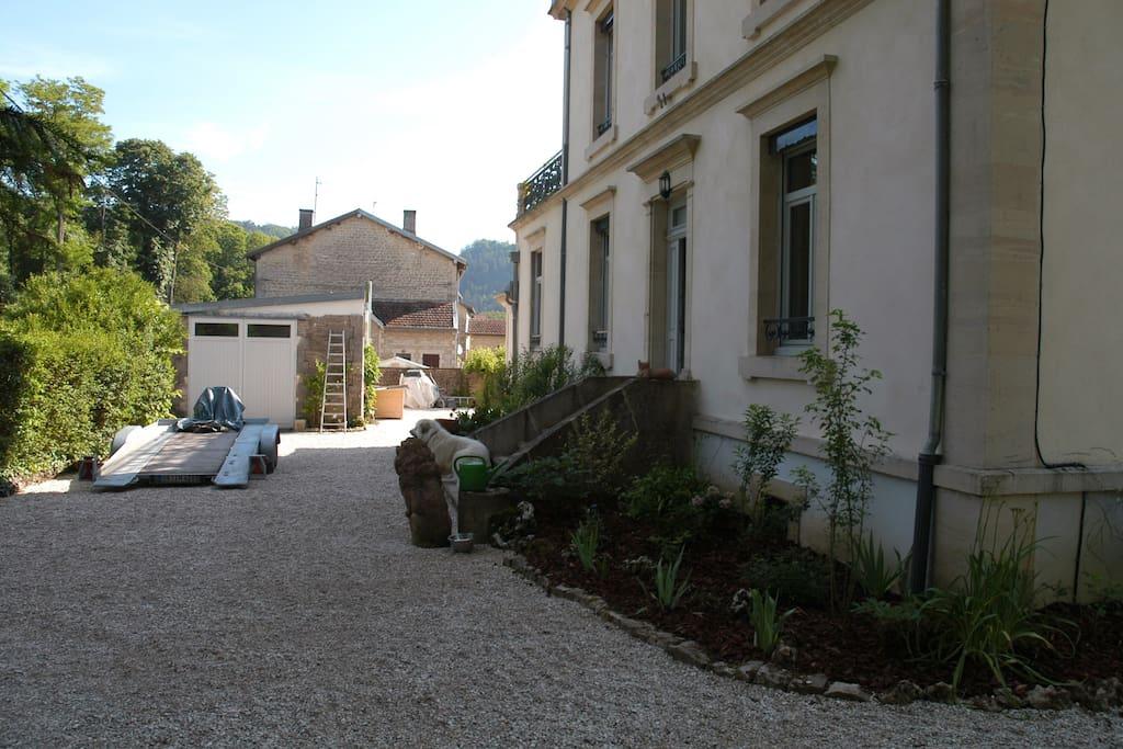 Villa popin chambres d 39 h tes louer vecqueville for Chambre d hote champagne ardennes