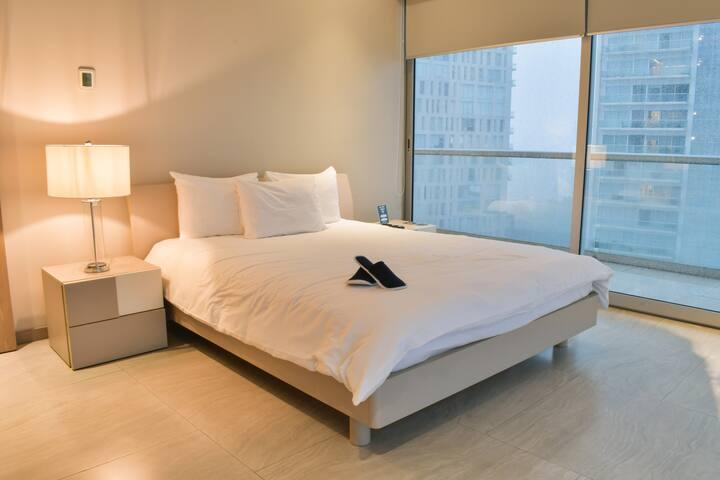 Spacious Modern 1-bedroom near Plaza Mexico