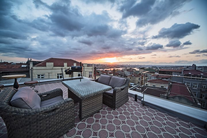 Stunning Apartment by Galata Tower8 - Beyoğlu - Wohnung