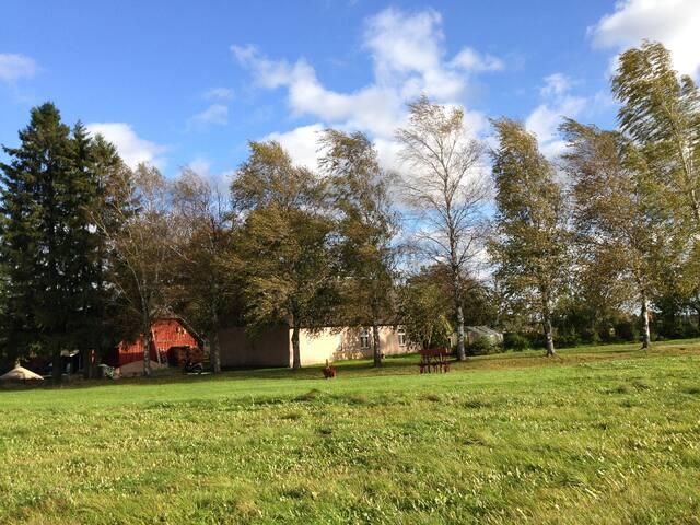 Farm House in small village.