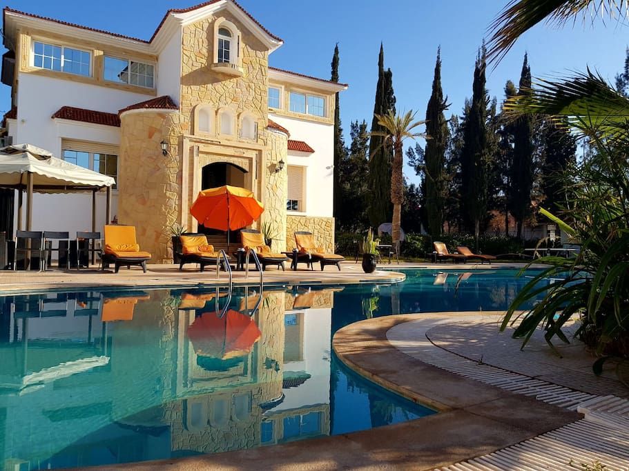 Villa piscine agadir maisons louer agadir souss for Villa a louer agadir avec piscine
