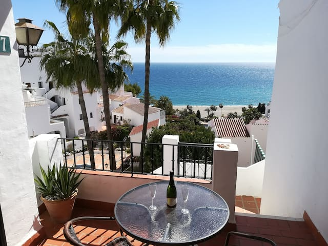 1 bedroom apartment with sea view in Nerja