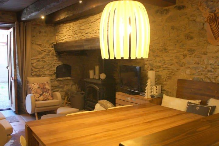 Preciosa casa en Vielha para 8 - Viella - Huis