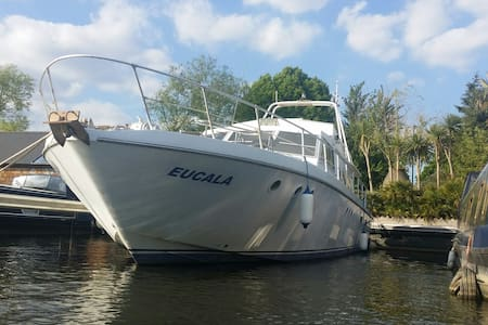 Luxury heated French Motor Yacht - Hampton Court - Greater London