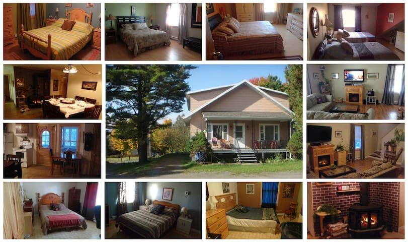 chambres dans une famille hôte (bed and breakfast) - Quebec - Casa