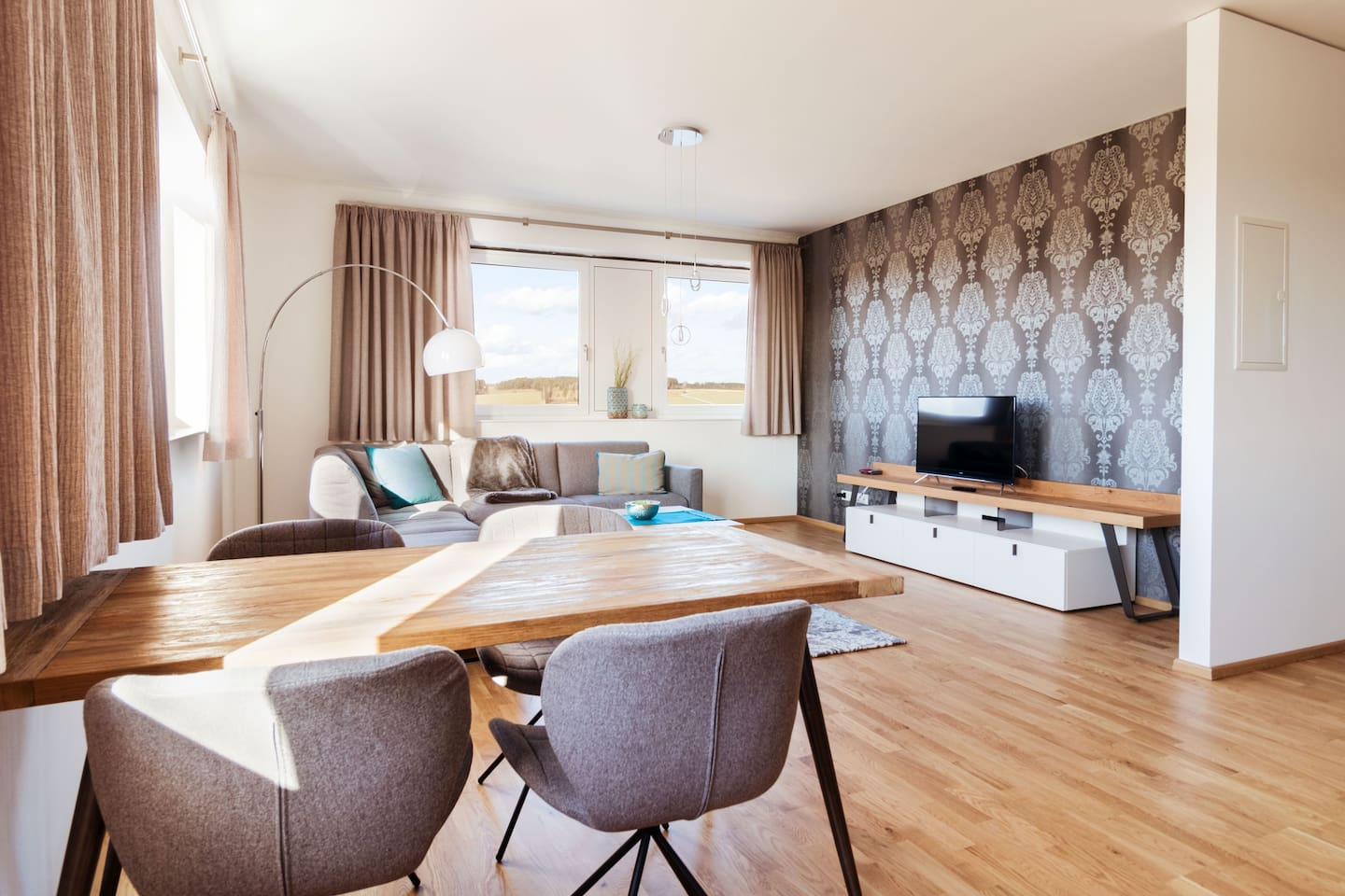 Moderne 80m² Wohnung im Boardinghouse Massing - Serviced apartments ...