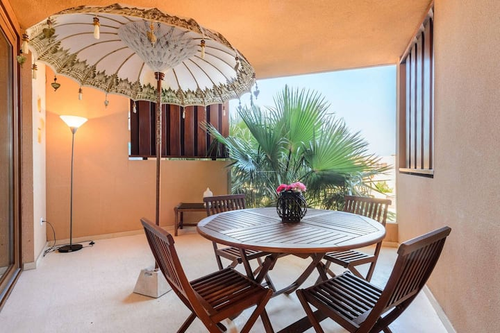 Playa den Bossa BEACH-APARTMENT groups of 12 Pers