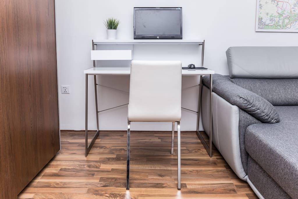 Work Desk with Computer