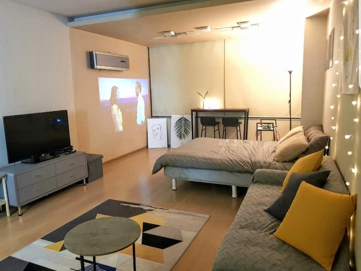 [매예약소독 Gangnam stn 10sec]City View beam-pro studio