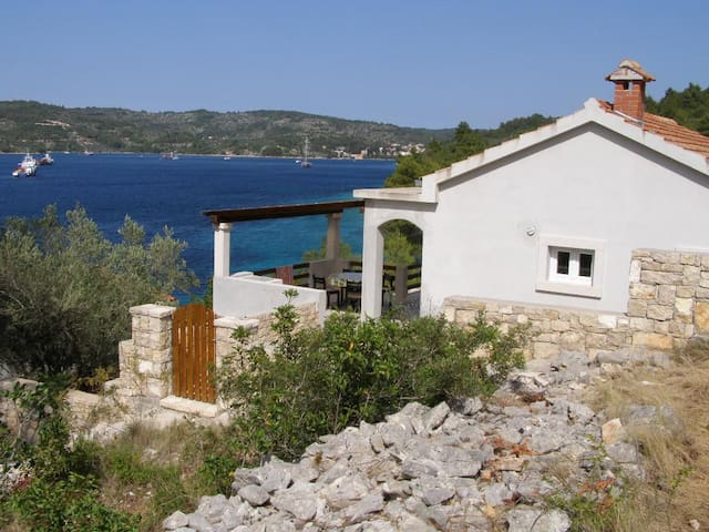 Two bedroom house near beach Cove Pičena bay - Pičena (Korčula) (K-14090)