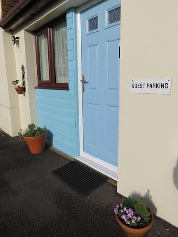 An attractive entrance.