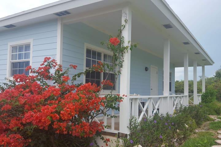 The Blue Cottage, Long Island, The Bahamas