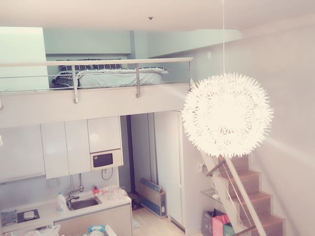 ☆NewOpen☆서면&전포Café Street 5min 야경이 예쁜 복층하우스 지하철10초