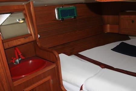 Kudra - sail yacht - stern cabin - La Spezia