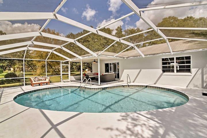 NEW! 3BR Hernando House w/Private Pool & Lanai!