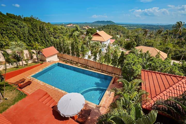 Villa Namuang 4 Bedroom with pool - Ko Samui - Casa de camp