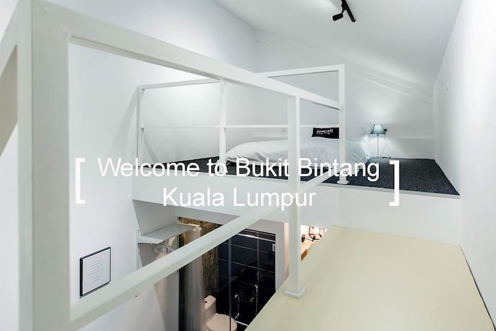 KS04- Truly Bright & Stylist Room in Bukit Bintang