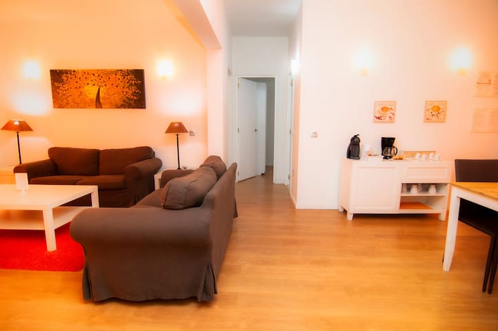 Central and comfortable accommodation in La Laguna