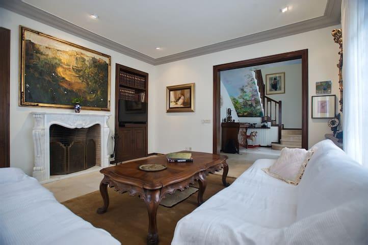 "Room ""Pepi"" in Villa with garden-café"