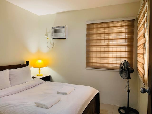 Fully air conditioned room with double size bed