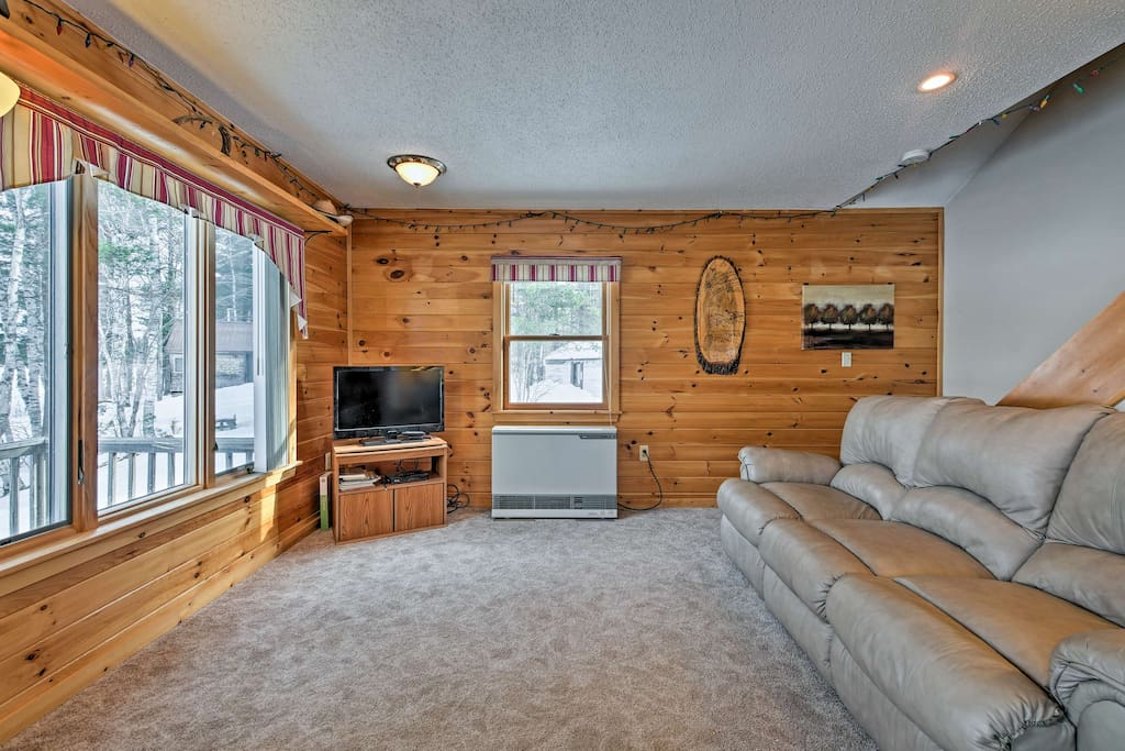 You'll feel right at home in this warm, cozy abode.