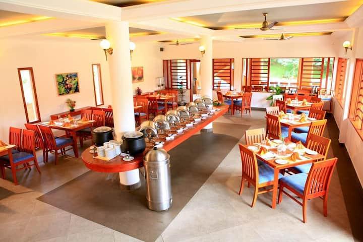 Comfortable Jungle Lodge Stay at Kerala