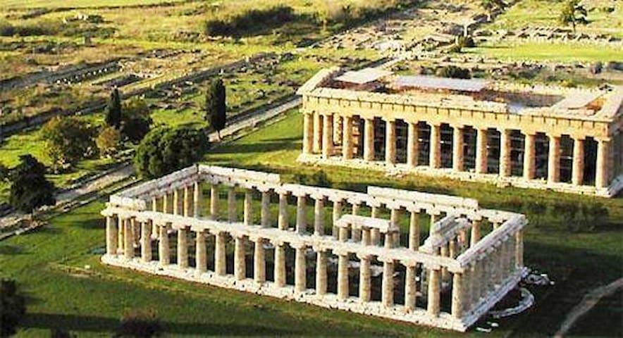 Foto panoramica: Paestum