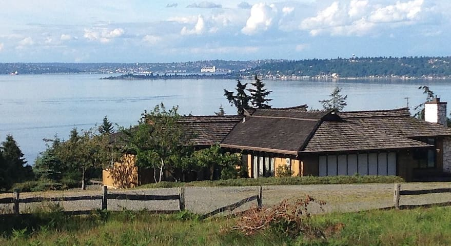 Spectacular View Home on North End - Vashon - Dům