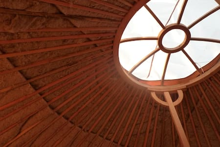 Yurt at the heart of the Aveyron region - Mur-de-Barrez - Rundzelt