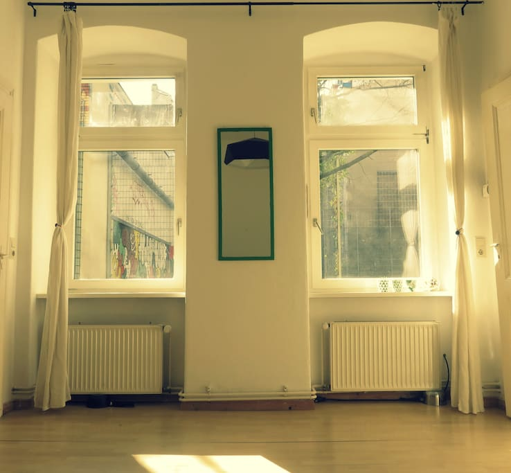 When there is a sun in Berlin, there is a sun in our flat.