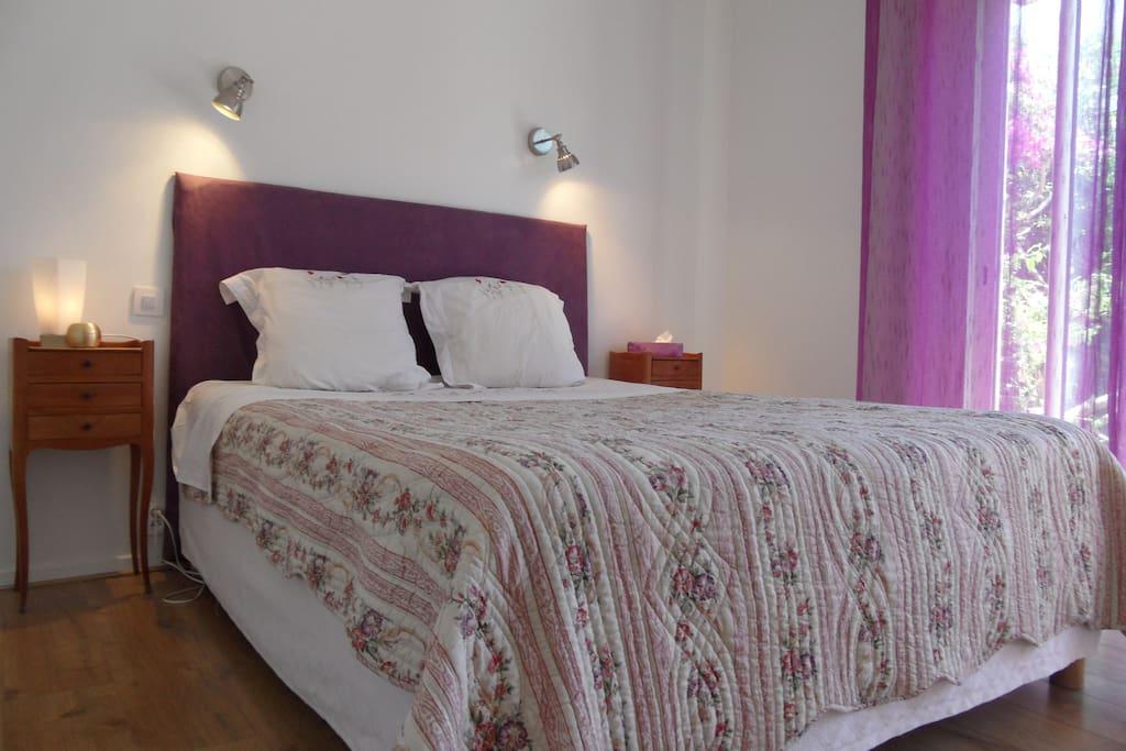 suite parentale proche centre a pied chambres d 39 h tes louer cannes provence alpes c te d. Black Bedroom Furniture Sets. Home Design Ideas