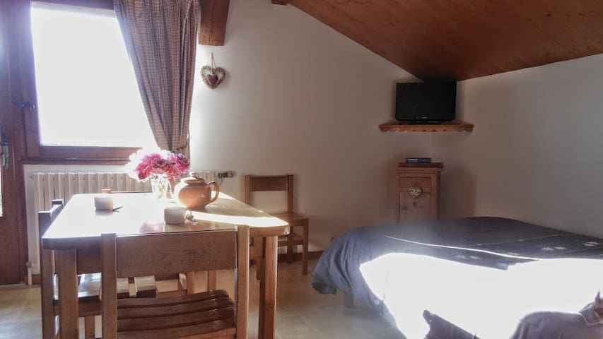 STUDIO FRENCH ALPS - Crest-Voland - Apartamento