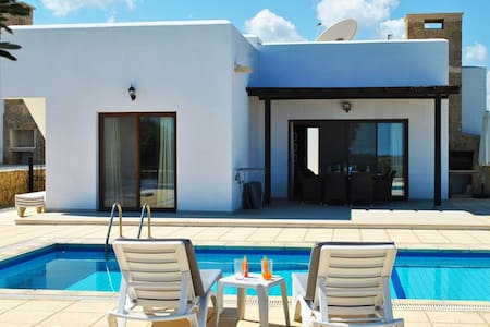 KB447 3 bdr cozy villa with private pool - Girne - 别墅