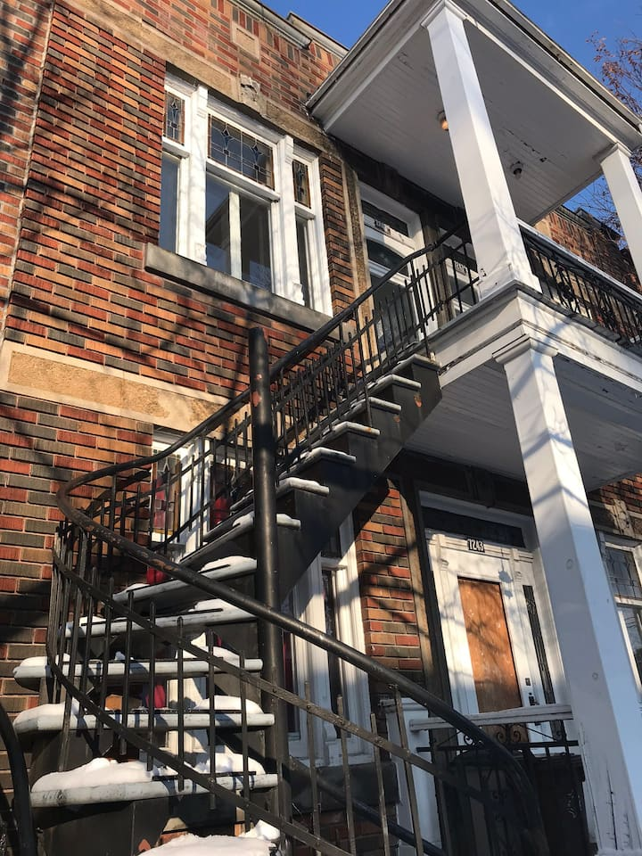 Cosy apartment in the middle of Villeray