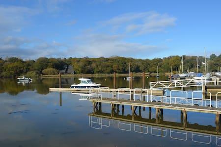 5* waterside luxury-pool/log-burner - Isle of Wight - 단독주택