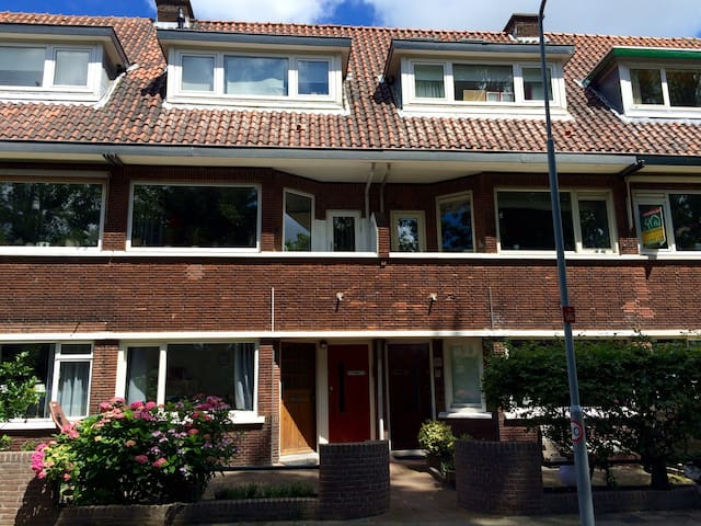 Bright 2 bedroom apartment in Voorburg with garden - Voorburg - Apartemen