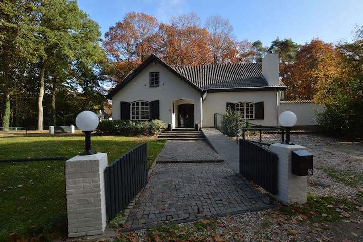 Luxurious and spacious holiday villa in wooded area near Arcen