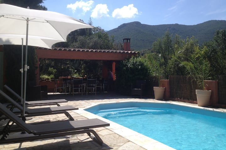 Mini villa avec piscine privée