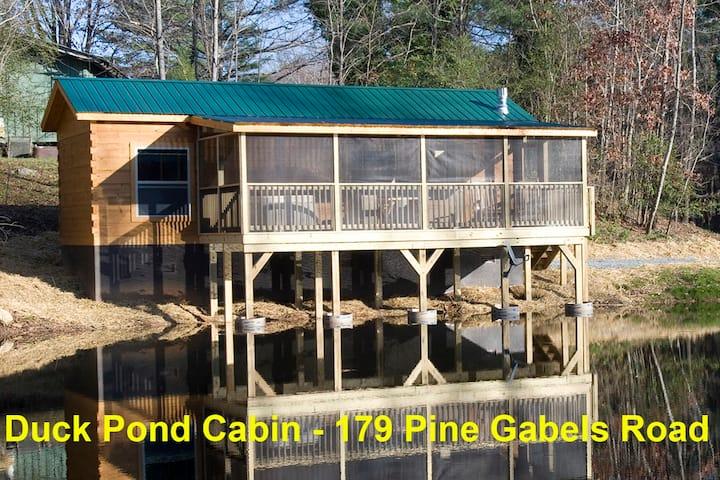 Duck Pond Cabin, Romantic Cabin on a private pond