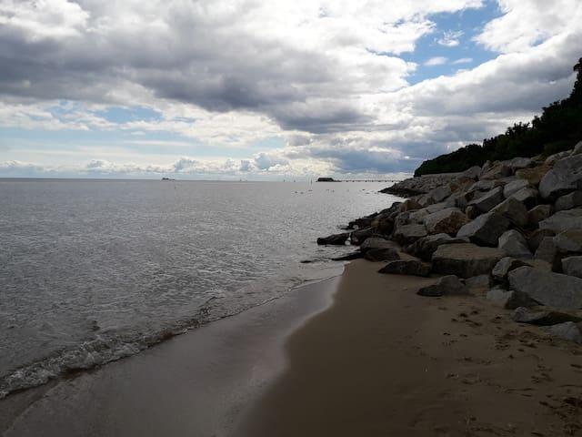 Dom nad morzem.