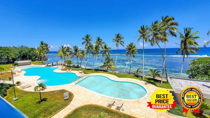 Mejor apartamento de playa de juan Dolio, piscina