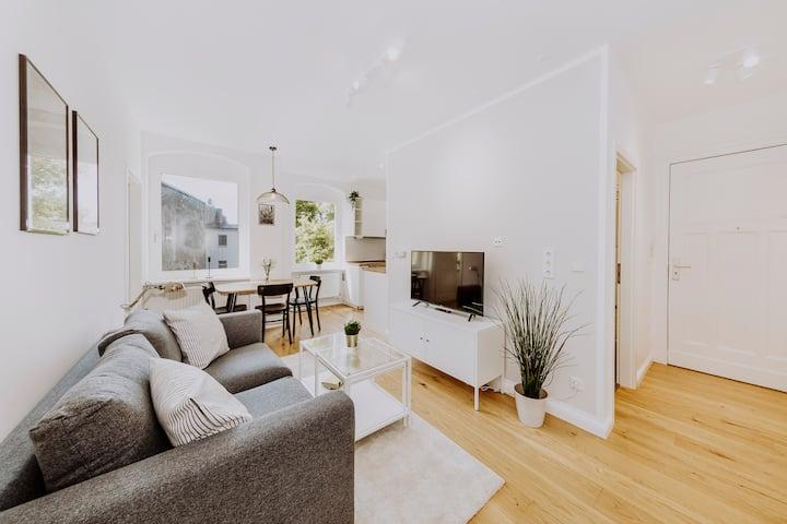 Beautiful two-bedroom apartment in Spandau