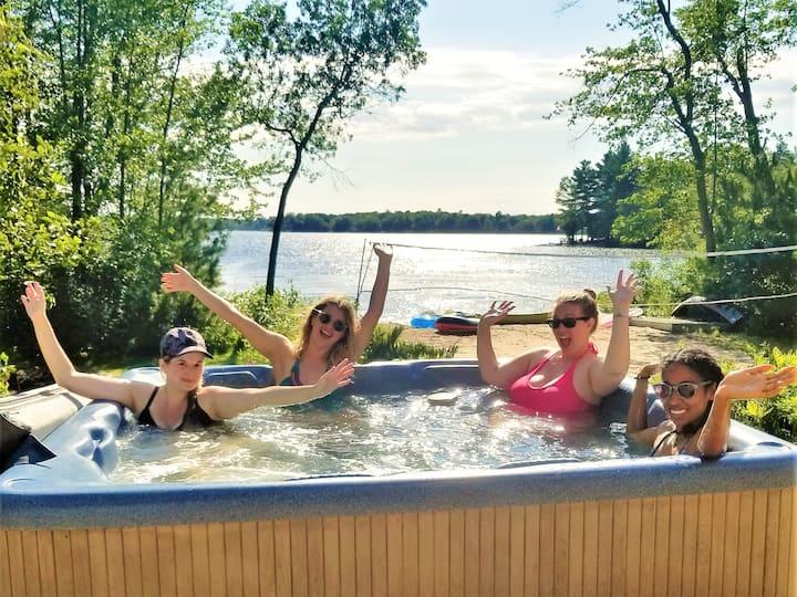 "Trenanthia ""New Cottage"" (Hot Tub,Sauna,Games Rm)"