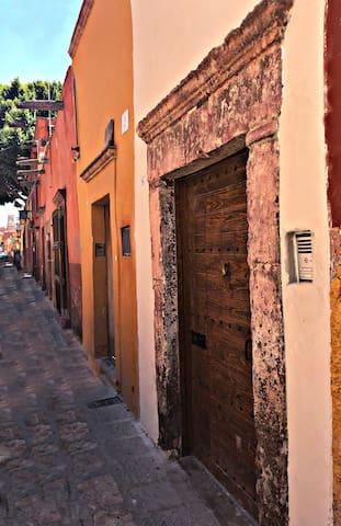 Estamos en el Centro Histórico de San Miguel de Allende