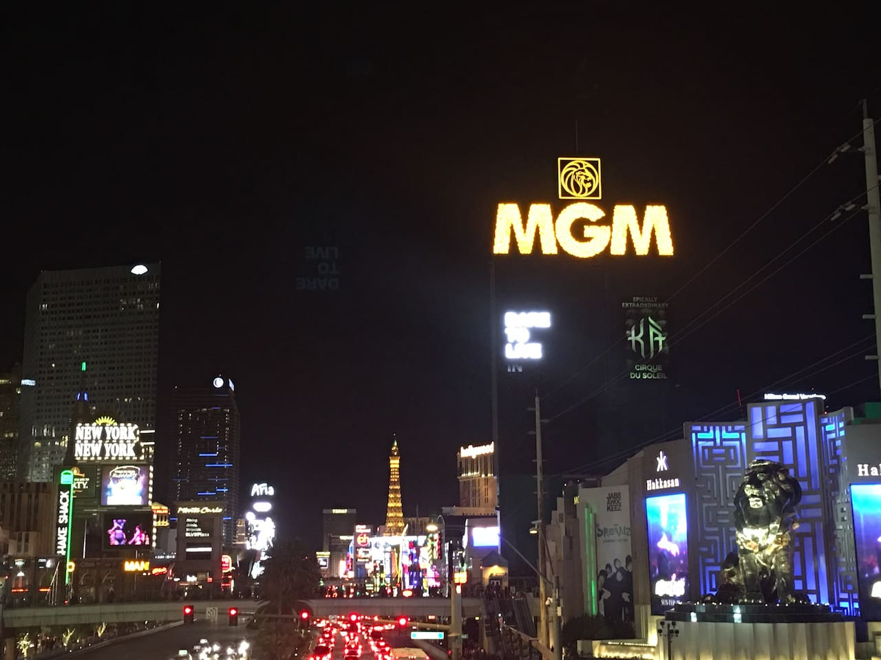 Penthouse is in the MGM right on the stunning Las Vegas Strip