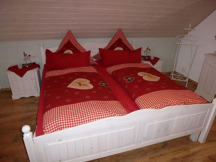 Ferienwohnung Slända, (Eigeltingen), Ferienwohnung Slända, 2 Schlafzimmer, max. 4 Personen