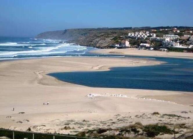 Casa do Gronho  vista para o Mar e Lagoa de Óbidos