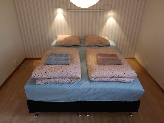 2nd soveværelse m/ dobbeltseng